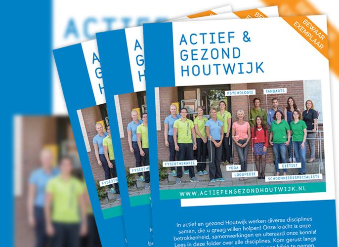 Actief & Gezond folder